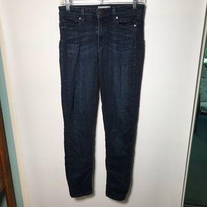 Paige Huxton Ultra Skinny dark wash jeans 27